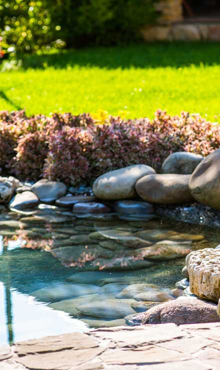 Land Master Contracting Ltd. Residential Water Features